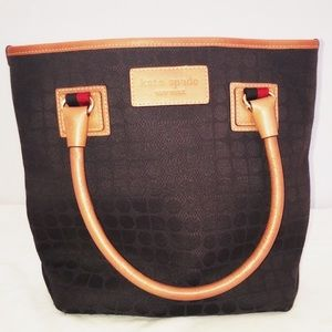 Kate Spade tote brown CLOSET SALE 2 items 50% off